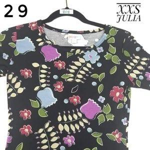 XXS LULAROE JULIA DRESS
